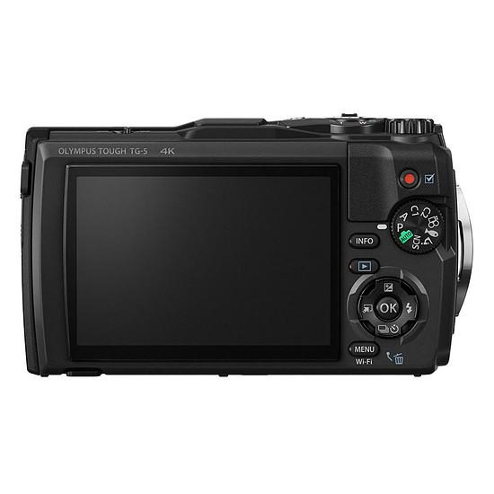 Appareil photo compact ou bridge Olympus Tough TG-5 Noir + LG-1 - Autre vue