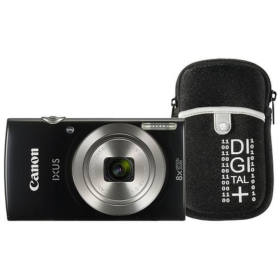 Appareil photo compact ou bridge Canon Ixus 185 Noir + Etui Vanguard Beneto 6 Noir