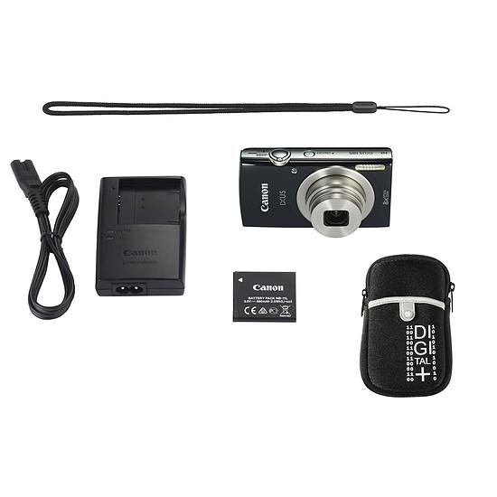 Appareil photo compact ou bridge Canon Ixus 185 Noir + Etui Vanguard Beneto 6 Noir - Autre vue