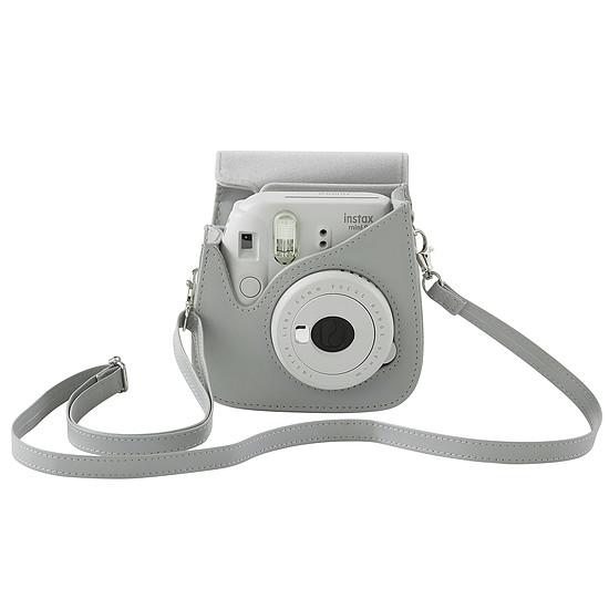 Sac, sacoche et housse Fujifilm Housse instax mini 8/9 Blanc cendré - Autre vue