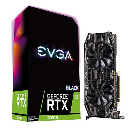 Carte graphique EVGA GeForce  RTX 2080 Ti Black  - 11 Go GDDR6