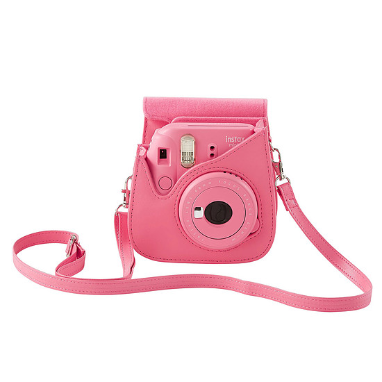 Appareil photo compact ou bridge Fujifilm Instax MINI 9 Rose + Housse + Films - Autre vue