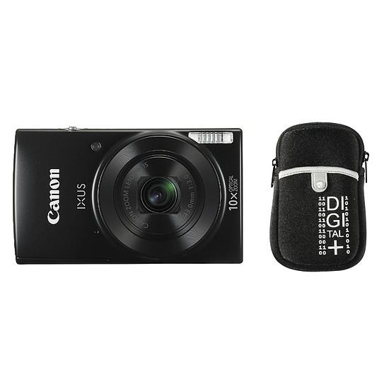 Appareil photo compact ou bridge Canon Ixus 190 Noir + Etui Vanguard Beneto 6 Noir