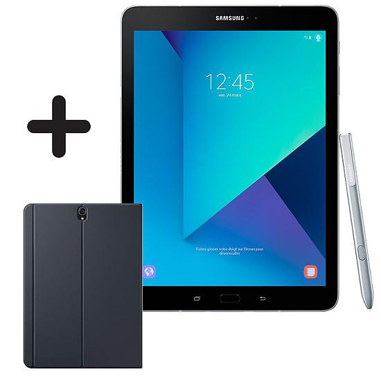 """Tablette Samsung Galaxy TAB S3 9.7"""" 32 Go WI-FI (Silver) + cover offerte"""