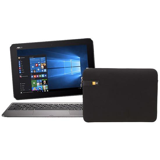 "Tablette Asus Transformer Book T101HA-GR029RB - 4 Go - 64 Go + Caselogic Housse LAPS-113 - 10.2""11.6"" (noir)"