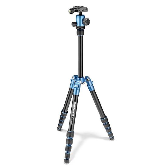 Trépied appareil photo Manfrotto Element Traveller Petit Modèle - MKELES5BK-BH Bleu