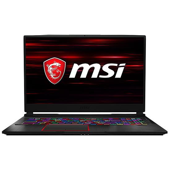 PC portable MSI GE75 Raider RGB 9SE-1226FR