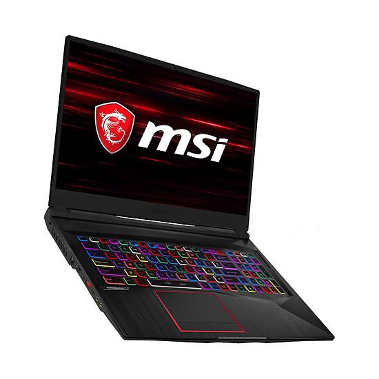 PC portable MSI GE75 Raider RGB 9SE-1226FR - Autre vue