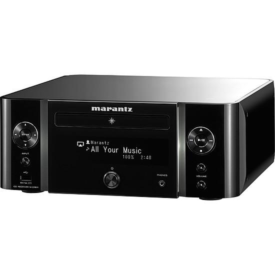 Mini-chaine Marantz MCR611 N1B  Melody Stream, Radio internet, WiFi + Cabasse Antigua MT32 Noyer - Autre vue
