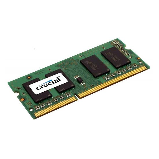 Mémoire Crucial 2 Go (1 x 2 Go) DDR3L 1600 MHz CL11 SR SO-DIMM