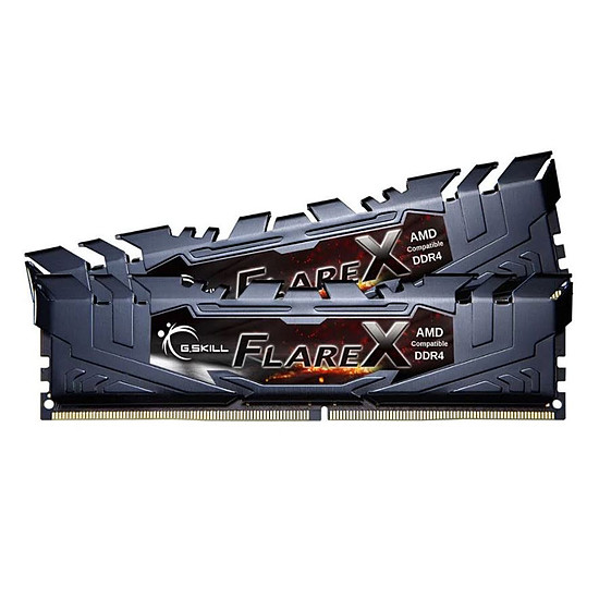Mémoire G.Skill Flare X Black DDR4 2 x 8 Go 2933 MHz CAS 14