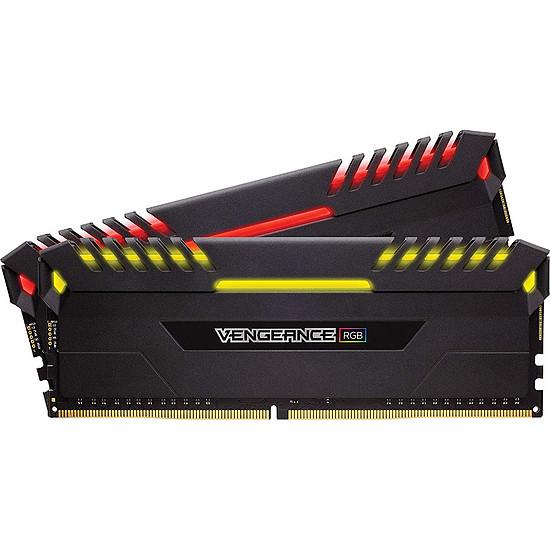 Mémoire Corsair Vengeance RGB DDR4 2 x 8 Go 4000 MHz CAS 19