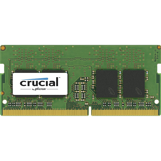 Mémoire Crucial 16 Go (1 x 16 Go) DDR4 2666 MHz CL19 DR SO-DIMM