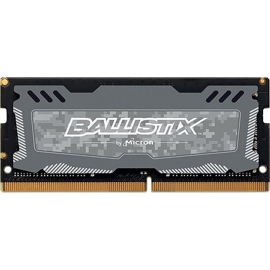 Mémoire Ballistix SO-DIMM Sport LT DDR4 4 Go 2666 MHz CAS 16