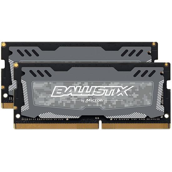 Mémoire Ballistix SO-DIMM Sport LT DDR4 2 x 16 Go 2666 MHz