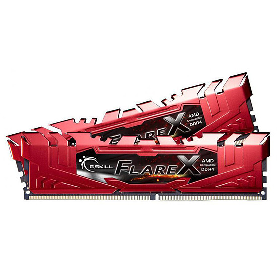 Mémoire G.Skill Flare X Red DDR4 2 x 8 Go 2133 MHz CAS 15