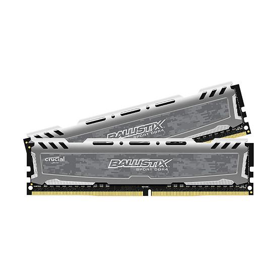Mémoire Ballistix Sport LT DDR4 2 x 16 Go 2666 MHz CAS 16 DR