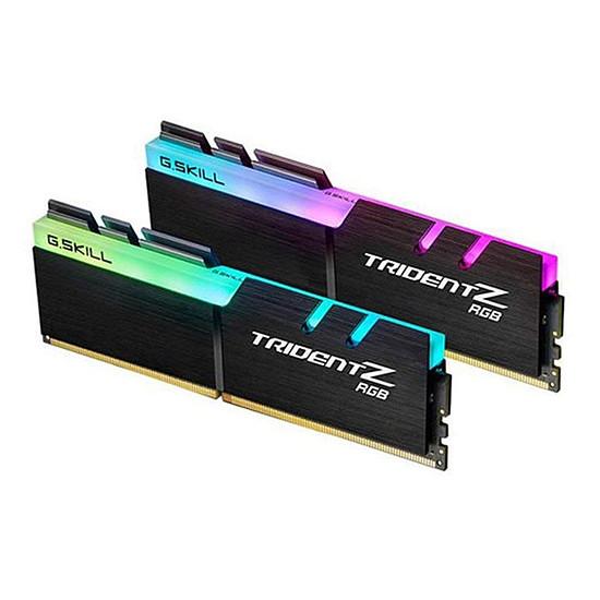 Mémoire G.Skill Trident Z RGB - 2 x 32 Go (64 Go) - DDR4 3200 MHz - CL16