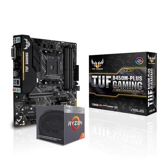 Kit upgrade PC AMD Ryzen 3 2200G + Asus TUF B450M-PLUS