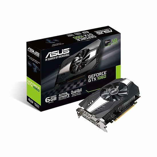 Carte graphique ASUS GeForce GTX 1060 Phoenix
