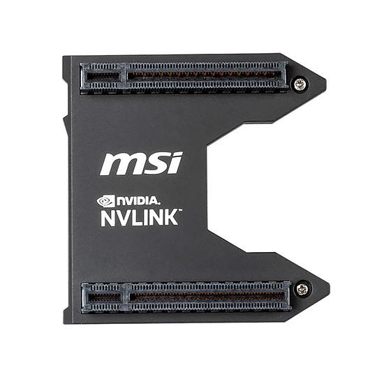 Carte graphique MSI Pont SLI Nvidia NVLink - Autre vue