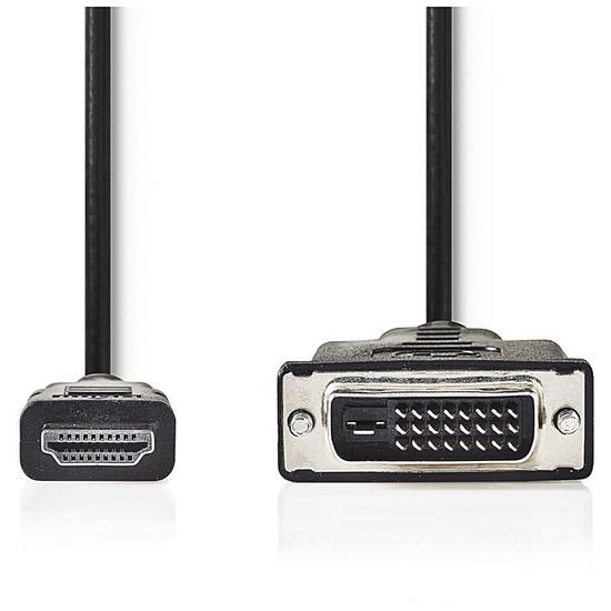 HDMI NEDIS Câble HDMI vers DVI (5 mètres)