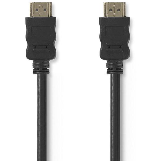 HDMI NEDIS Câble HDMI haute vitesse avec Ethernet Noir (1 mètre) - Autre vue