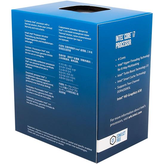 Processeur Intel Core i7 7700 - Autre vue