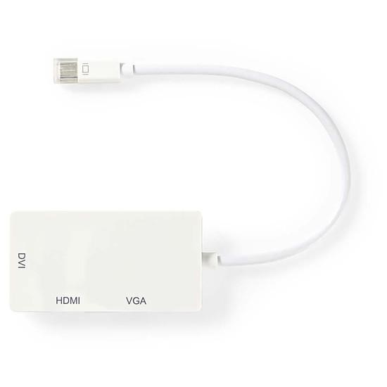 DisplayPort NEDIS Adaptateur Mini-DisplayPort vers HDMI, DVI et VGA (Mâle/Femelle) - Autre vue