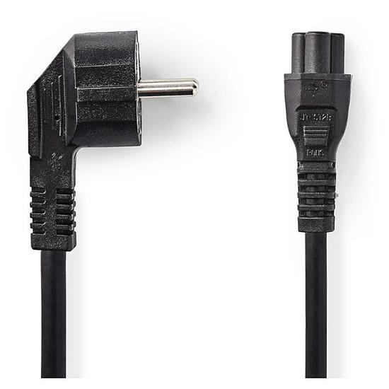 Alimentation NEDIS Câble d'alimentation tripolaire noir - 5 mètres