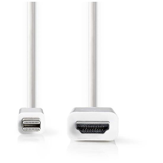 DisplayPort NEDIS Cordon mini DisplayPort Mâle vers HDMI femelle