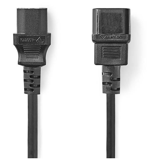 Alimentation NEDIS Rallonge pour PC, moniteur et onduleur noir - 2 mètres - Autre vue