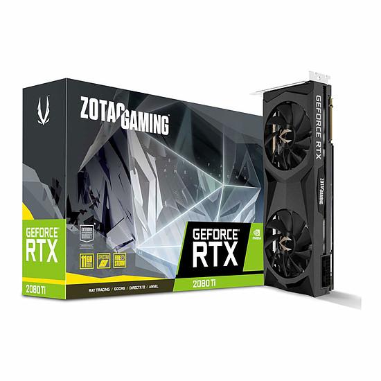 Carte graphique Zotac GeForce RTX 2080 Ti Twin Fan - 11 Go GDDR6