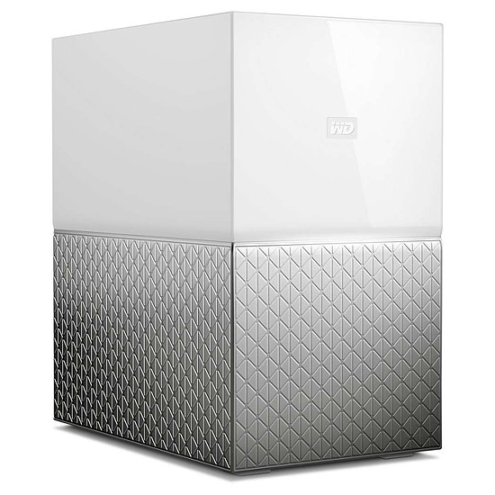 Serveur NAS Western Digital (WD) Cloud personnel My Cloud Home Duo - 8 To (2 x 4 To WD) - Autre vue