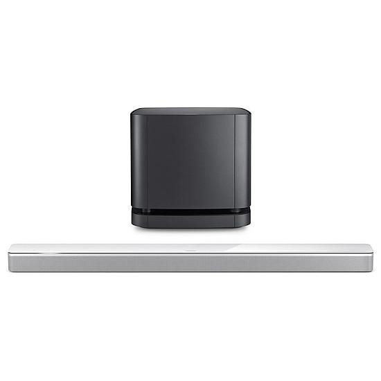 Barre de son Bose Soundbar 700 Blanc + Module de basse 500