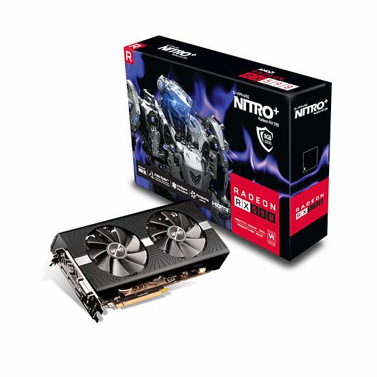 Carte graphique Sapphire Radeon RX 590 Nitro+ OC 8 Go