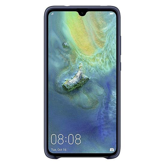 Coque et housse Huawei Coque silicone (bleu) - Huawei Mate 20