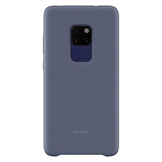 Coque et housse Huawei Coque silicone (bleu) - Huawei Mate 20 - Autre vue