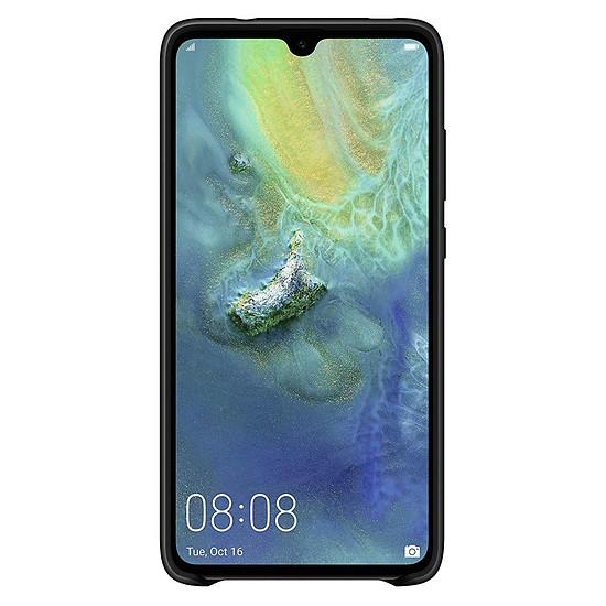 Coque et housse Huawei Coque silicone (noir) - Huawei Mate 20