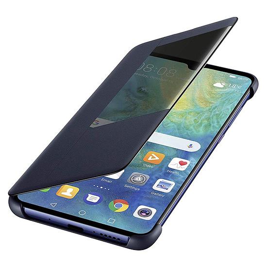Coque et housse Huawei View Flip (bleu) - Huawei Mate 20