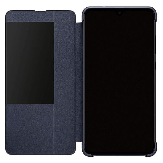 Coque et housse Huawei View Flip (bleu) - Huawei Mate 20 - Autre vue