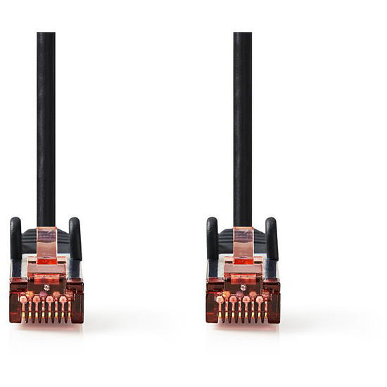 Câble RJ45 NEDIS Câble RJ45 catégorie 6 S/FTP 2 m (Noir)