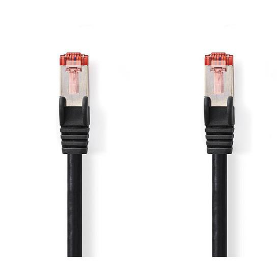 Câble RJ45 NEDIS Câble RJ45 catégorie 6 S/FTP 3 m (Noir) - Autre vue
