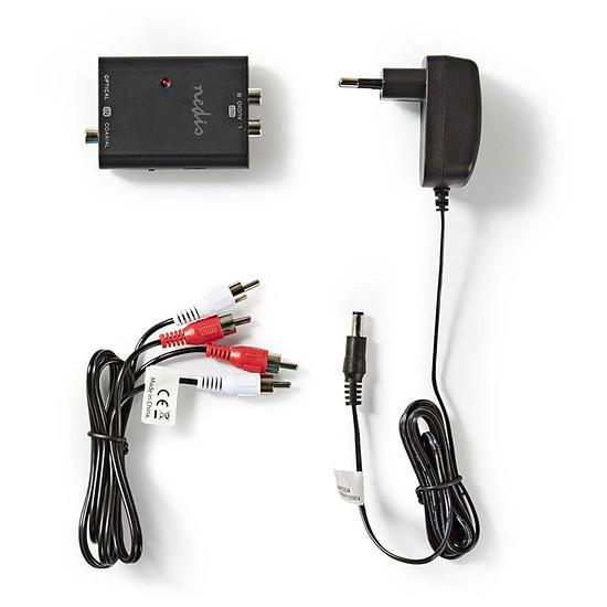 Câble audio RCA NEDIS Convertisseur numérique vers audio stéréo - Autre vue