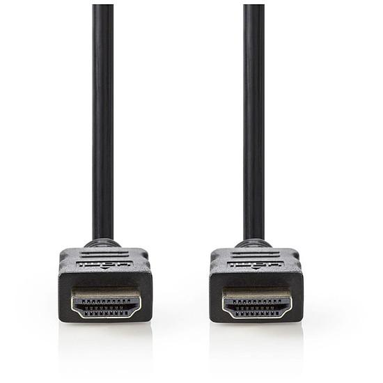 HDMI NEDIS Câble HDMI haute vitesse avec Ethernet Noir (7.5 mètres)