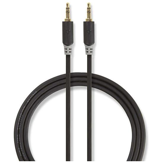 Câble audio Jack NEDIS Câble Audio Stéréo Jack 3.5 mm - 1 mètre - Autre vue