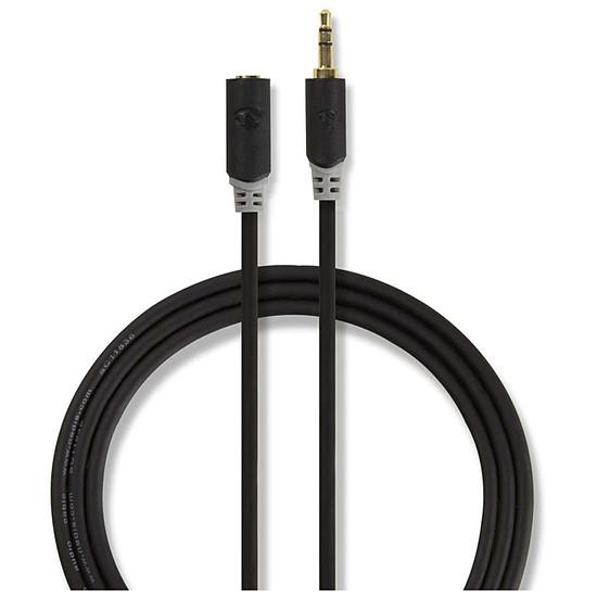 Câble audio Jack NEDIS Rallonge Audio Stéréo Jack 3.5 mm - 1 mètre - Autre vue
