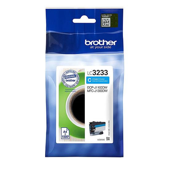 Cartouche d'encre Brother LC3233C
