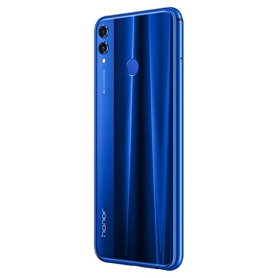 Smartphone et téléphone mobile Honor 8X (bleu) - 128 Go - 4 Go - Autre vue