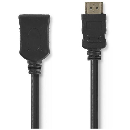 HDMI NEDIS Rallonge HDMI haute vitesse avec Ethernet Noir (1 mètre) - Autre vue